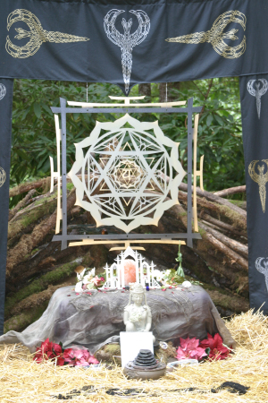 Beloved Festival altars
